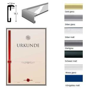 Lijst van aluminium voor oorkonden - de hoogwaardige wissellijst