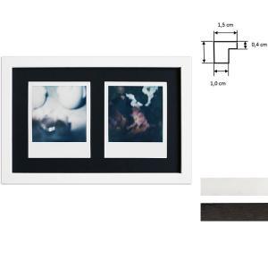 Lijst voor 2 directbeelden - Typ Polaroid 600