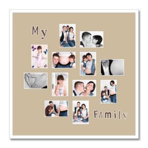 """Thema passe-partout """"Family"""""""