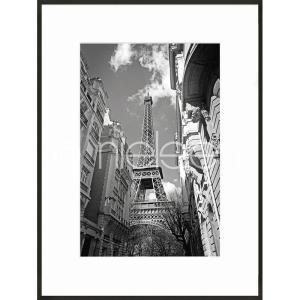 """Beeld met lijst """"Eiffel Tower"""" met lijst van aluminium C2"""