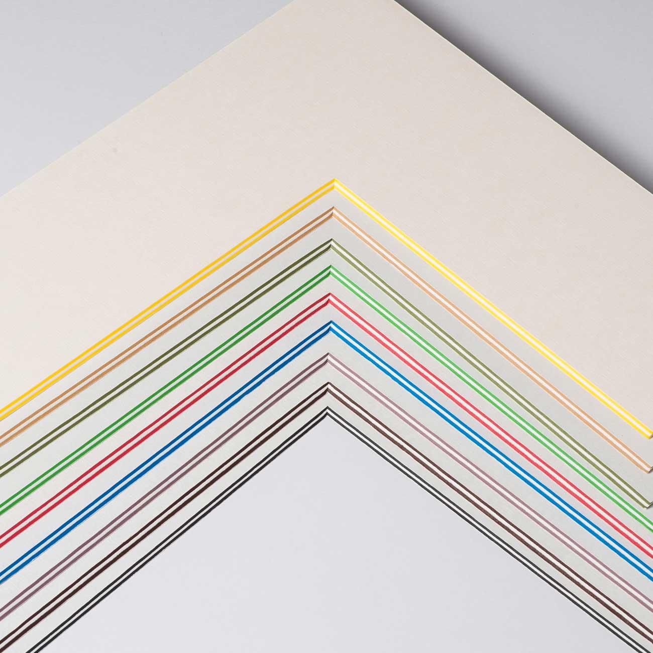 2,2 mm ColorCoreStripe passe-partout met individueel knipsel