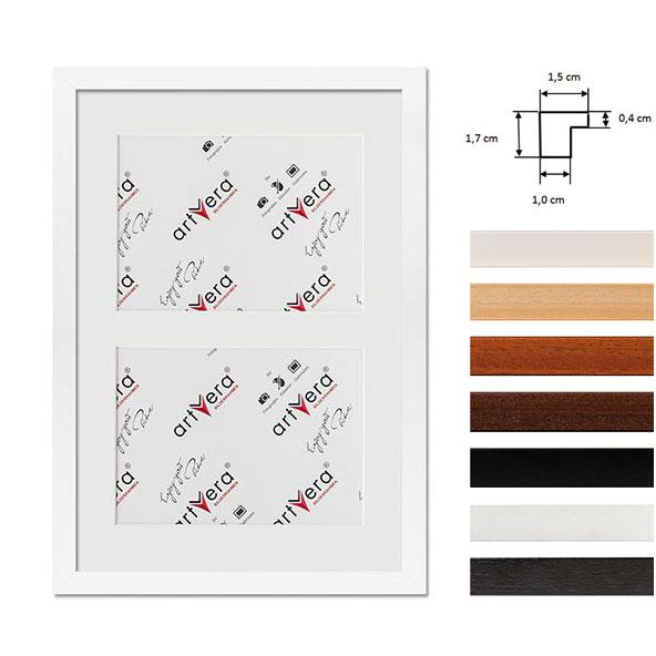 """Galerij lijst voor 2 """"Uppsala"""", 25x35 cm - 13x18 cm"""