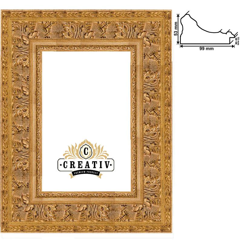 Baroklijst Grosseto op maat