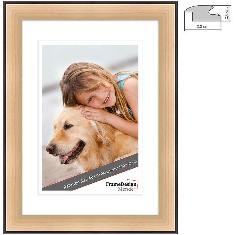 Lijst van hout op maat Chuchasa