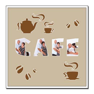 "Thema passe-partout ""koffie"""