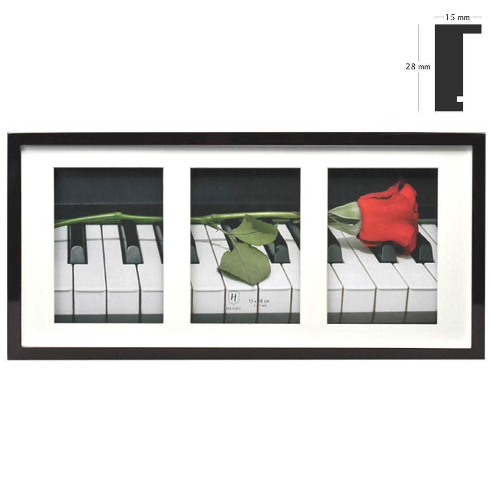 Galerij lijst Piano voor 3 beelden