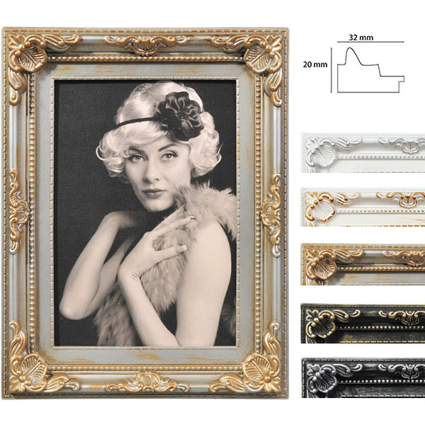 Lijst van plastiek Antique Barock