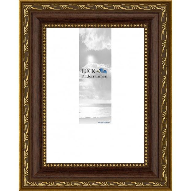 Baroklijst Fichtenau met passe-partout 29,7x42 cm (20x30 cm) | noot | normaalglas