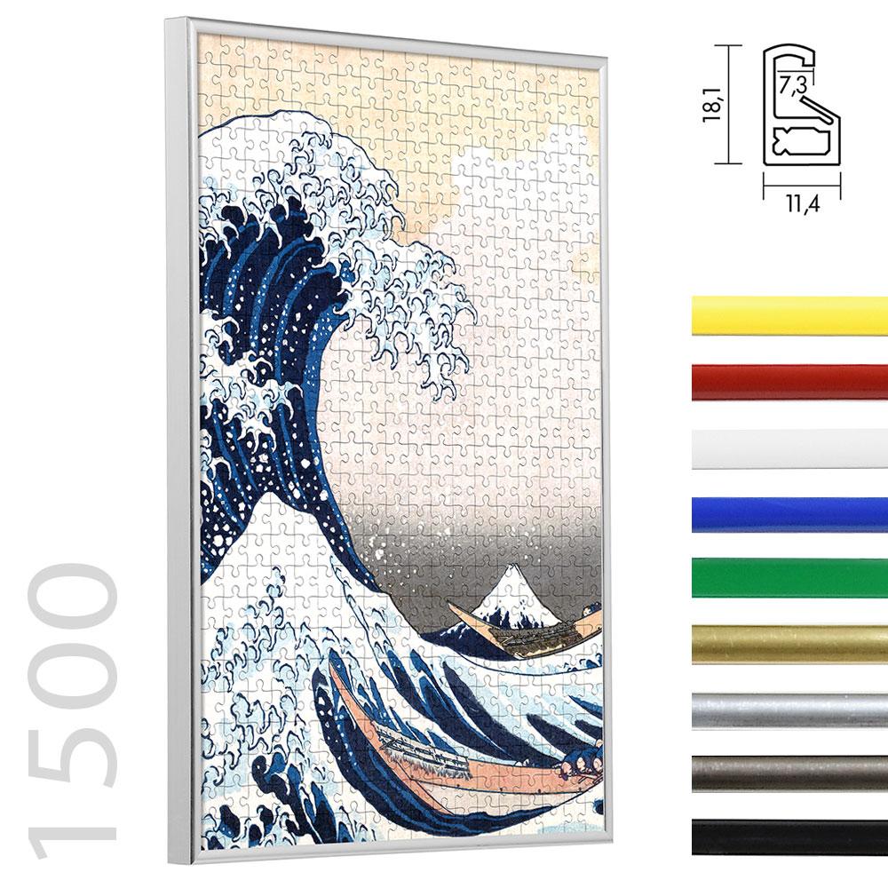 Lijst voor puzzle van plastiek voor 1500 stukken