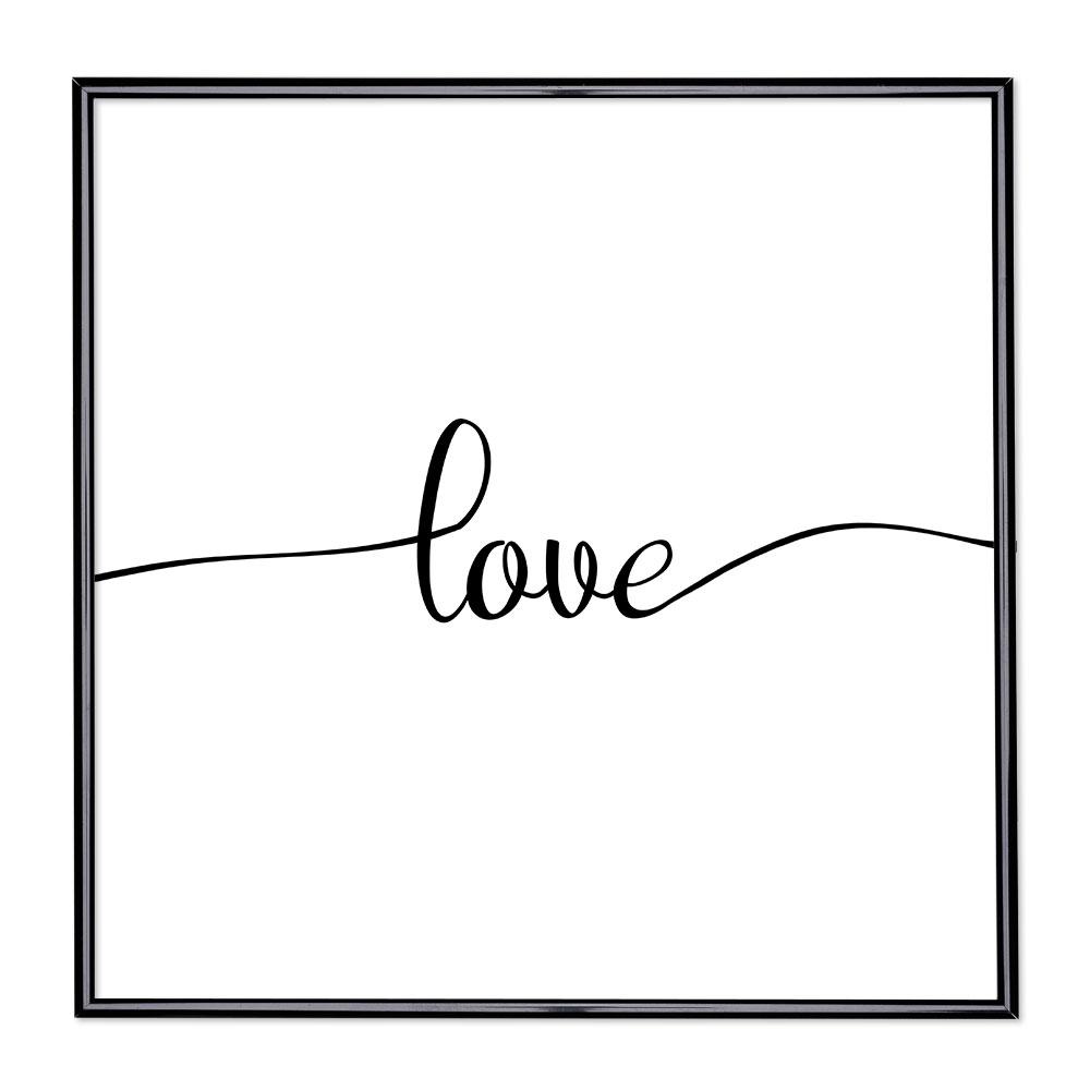 Fotolijst met slogan - Love 1