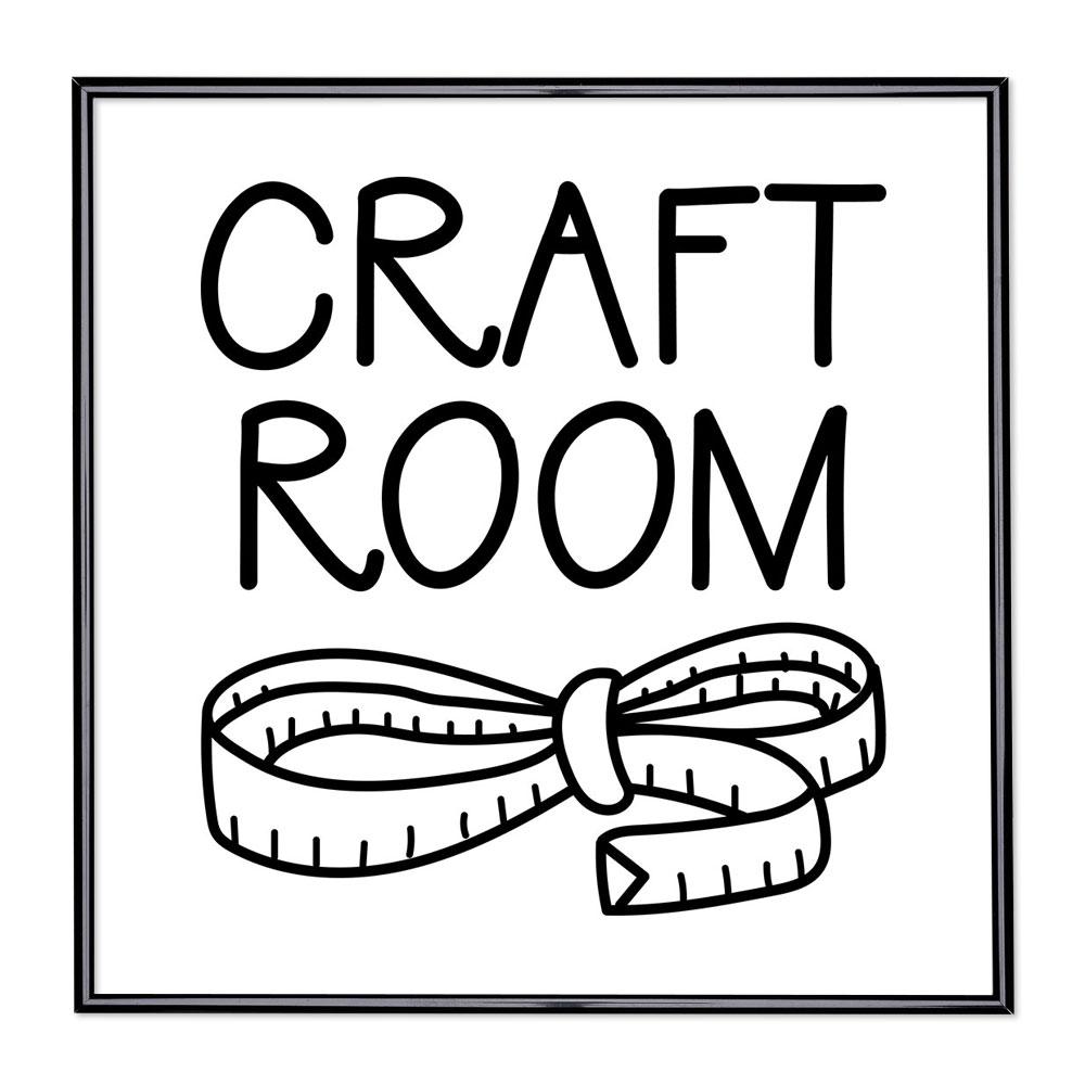 Fotolijst met slogan - Craft Room