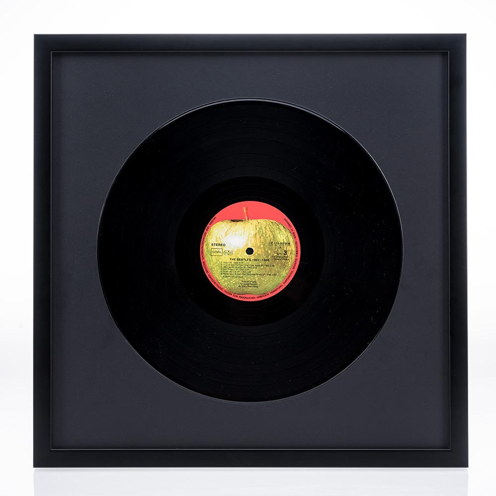 Lijst van hout Figari voor vinylplaten