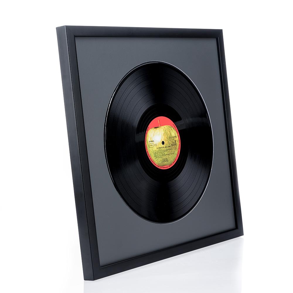 Lijst van hout Top Cube voor vinylplaten