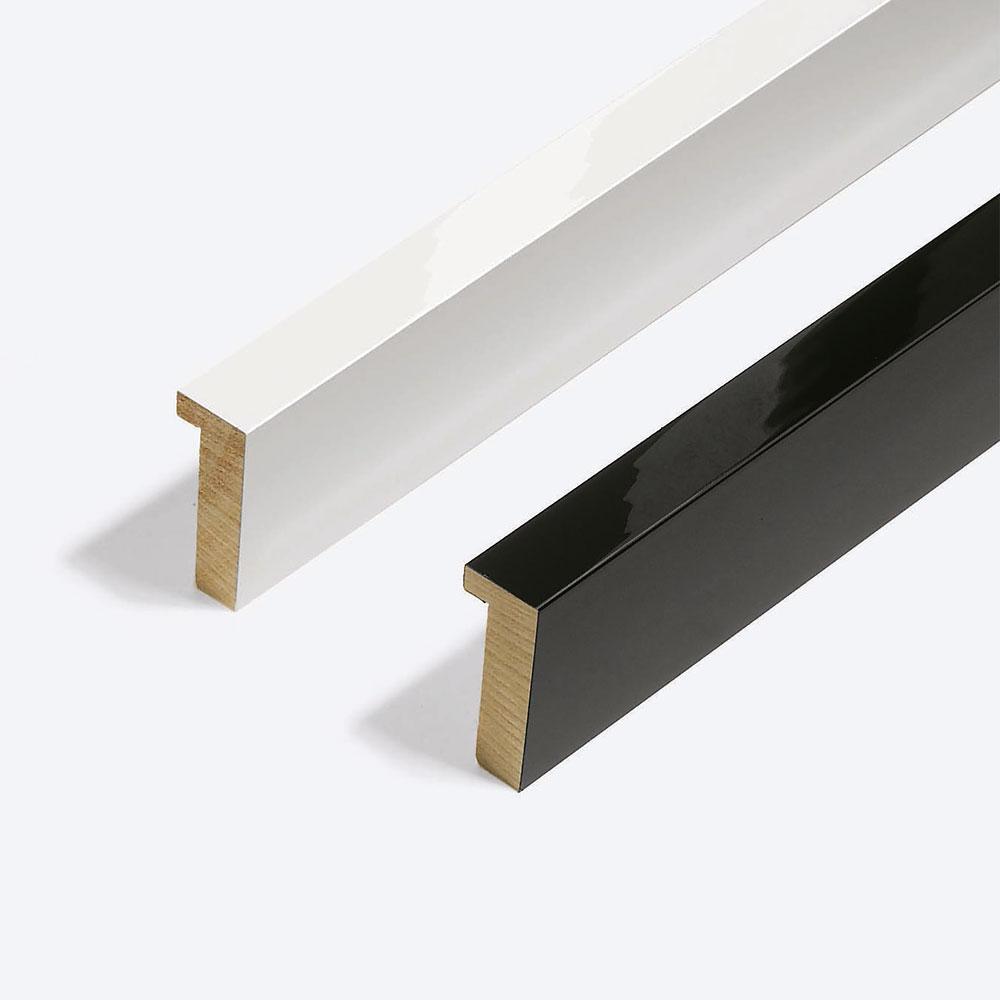 Lijst van hout op maat, Matrix B&W 20x52