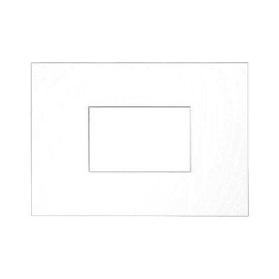 Galerij passe-partout 2,5 mm, buitenformaat 21x29,7 cm