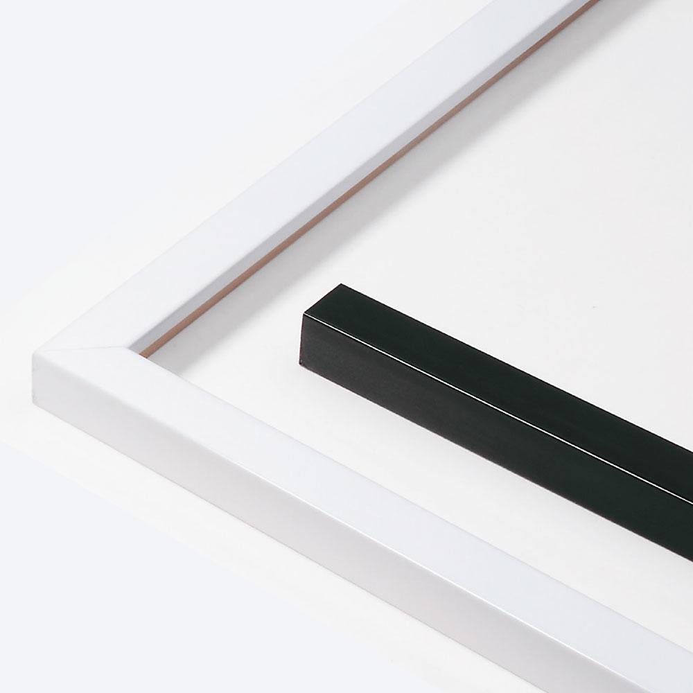 Lijst van hout op maat, Matrix B&W 20x20