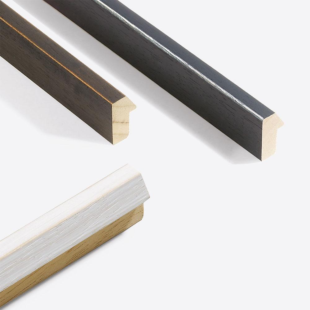 Lijst van hout op maat, Modern Shabby 19