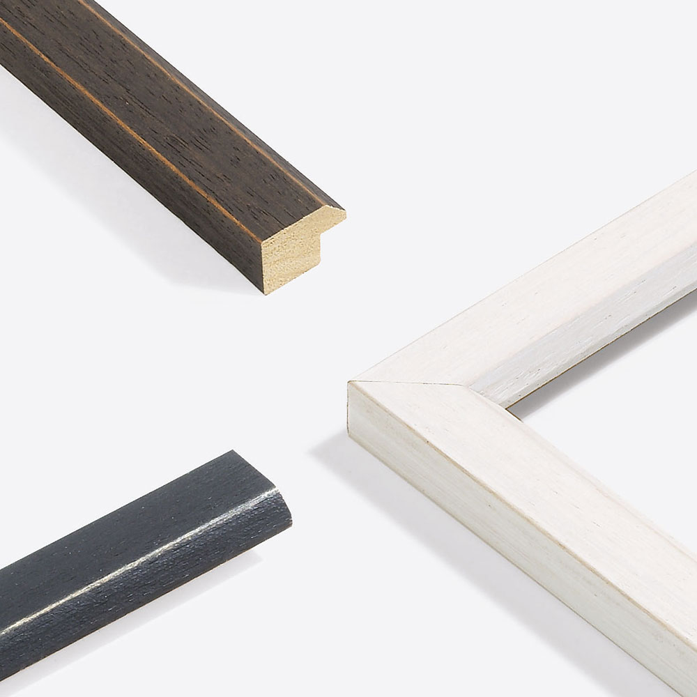 Lijst van hout Modern Shabby 28