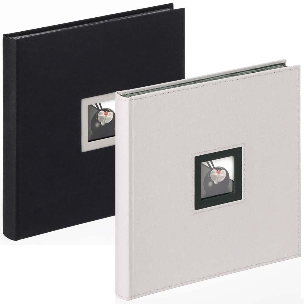 """Boekalbum """"Black & White"""" voor inlijmen, 30x30 cm"""